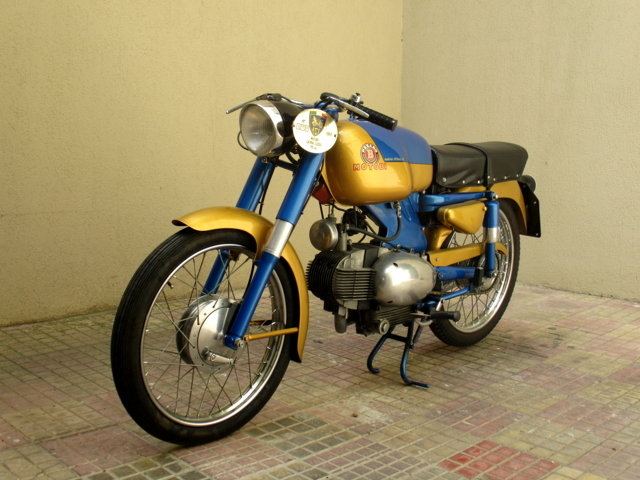 MOTOBI CATRIA TYPE 'LUXURY' 175 4T (1960) PERFECT For Sale (picture 3 of 6)