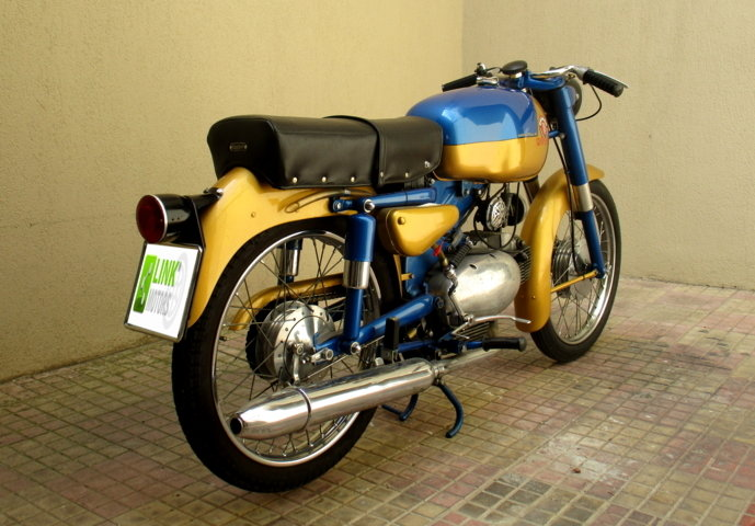 MOTOBI CATRIA TYPE 'LUXURY' 175 4T (1960) PERFECT For Sale (picture 4 of 6)
