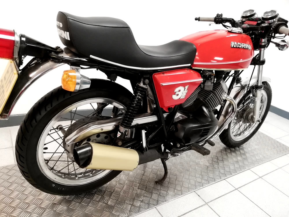 1980 Moto Morini 3 1/2 SOLD (picture 3 of 6)