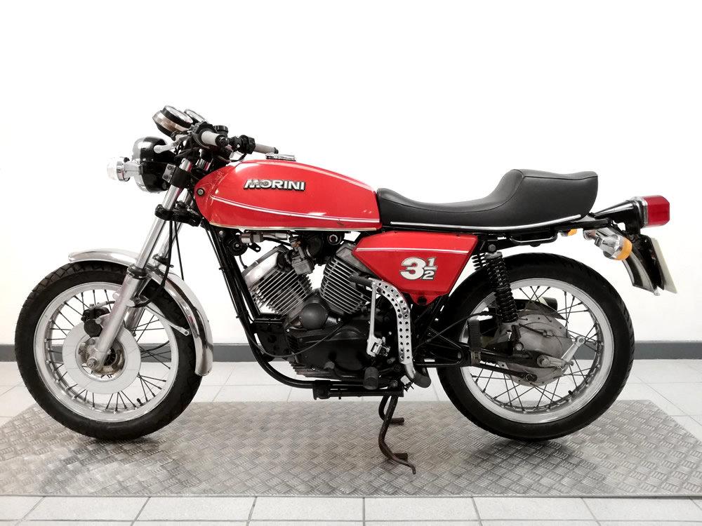 1980 Moto Morini 3 1/2 SOLD (picture 6 of 6)
