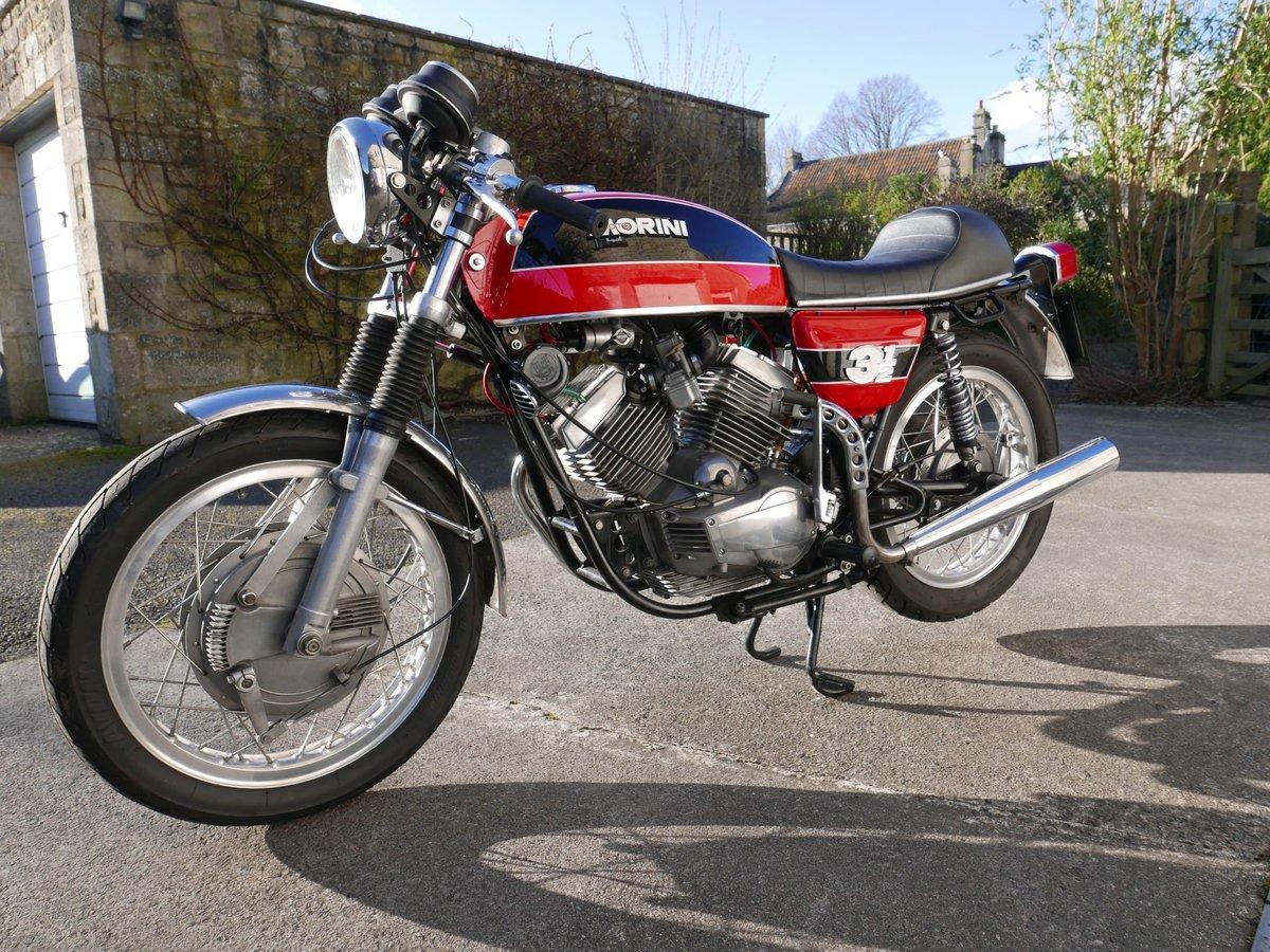 1974 Moto morini 350 drum-brake sport SOLD (picture 1 of 6)