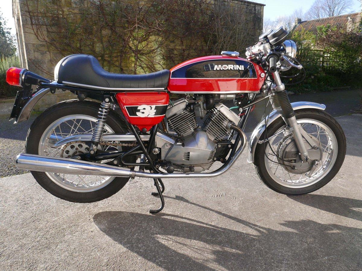 1974 Moto morini 350 drum-brake sport SOLD (picture 2 of 6)