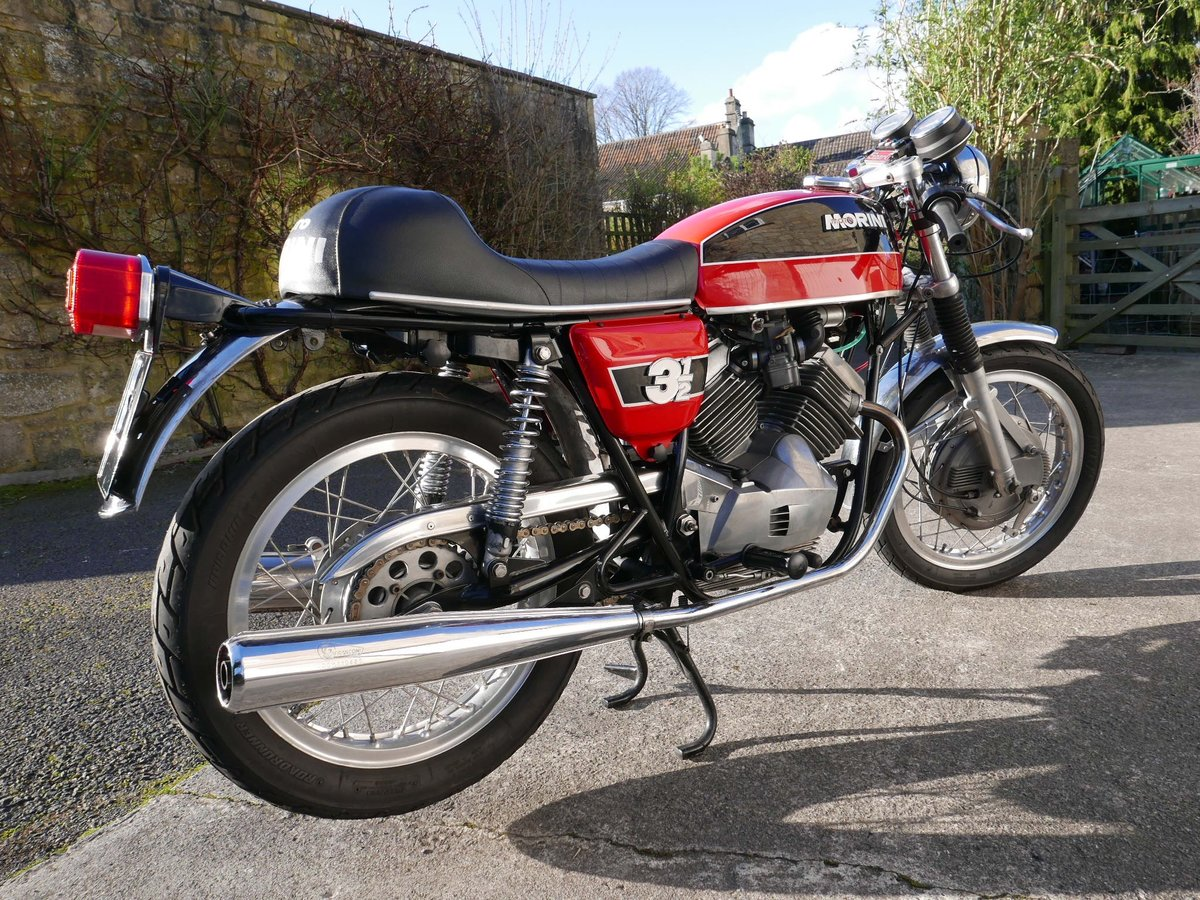 1974 Moto morini 350 drum-brake sport SOLD (picture 3 of 6)
