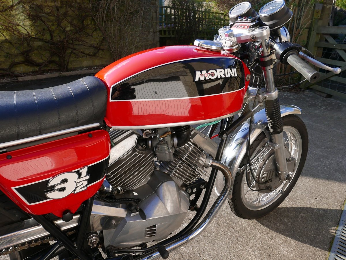 1974 Moto morini 350 drum-brake sport SOLD (picture 4 of 6)
