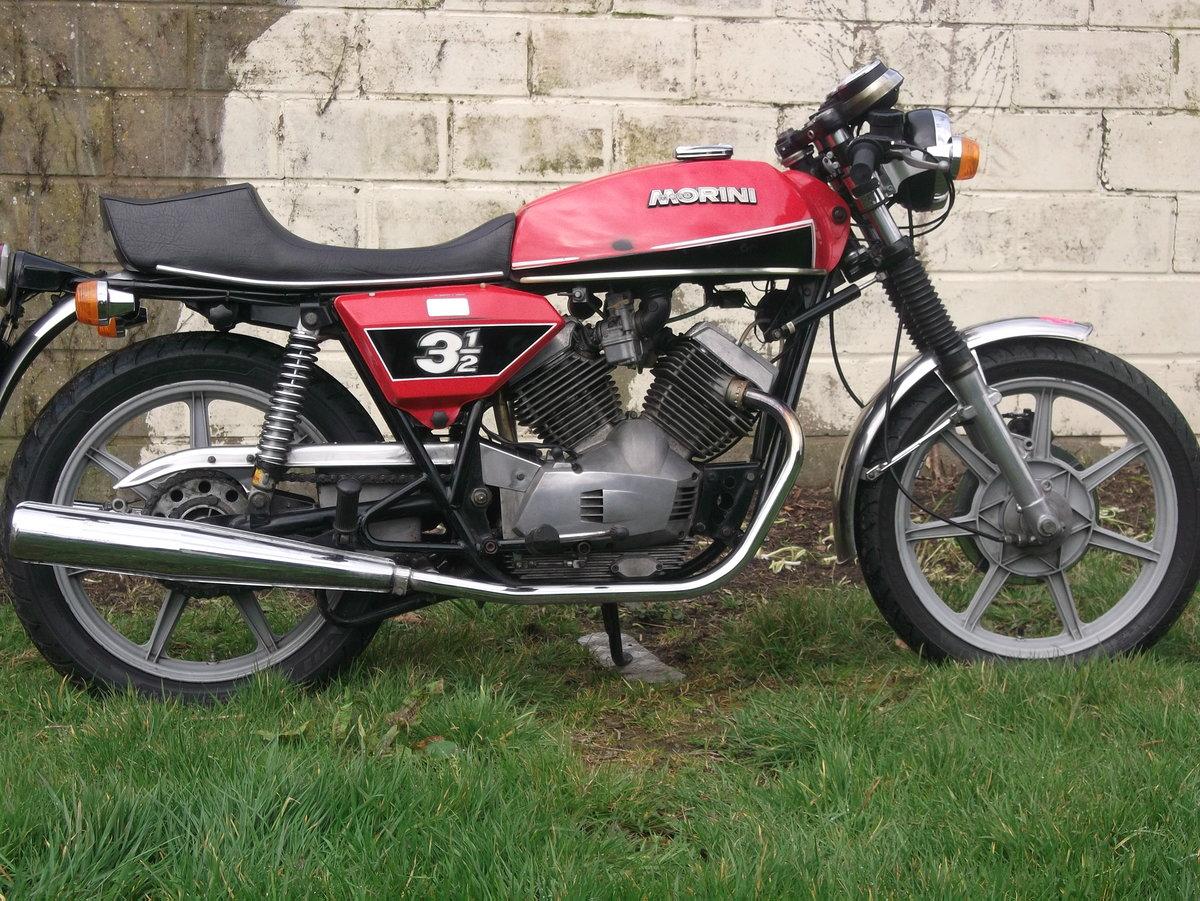1978 Moto Morini 3 1/2 Sport 350 For Sale (picture 1 of 6)