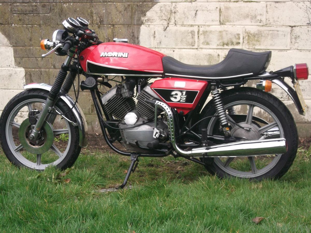 1978 Moto Morini 3 1/2 Sport 350 For Sale (picture 2 of 6)