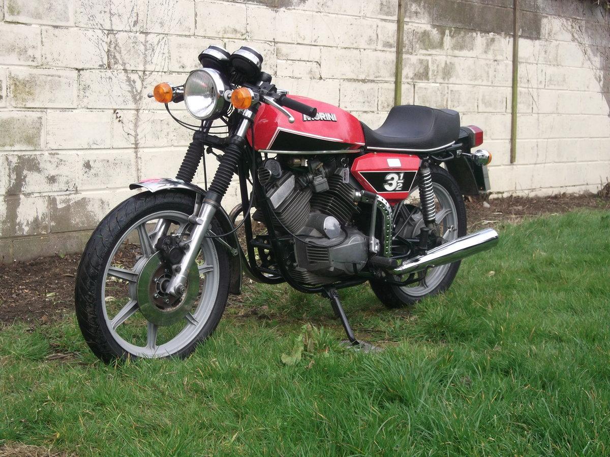 1978 Moto Morini 3 1/2 Sport 350 For Sale (picture 3 of 6)