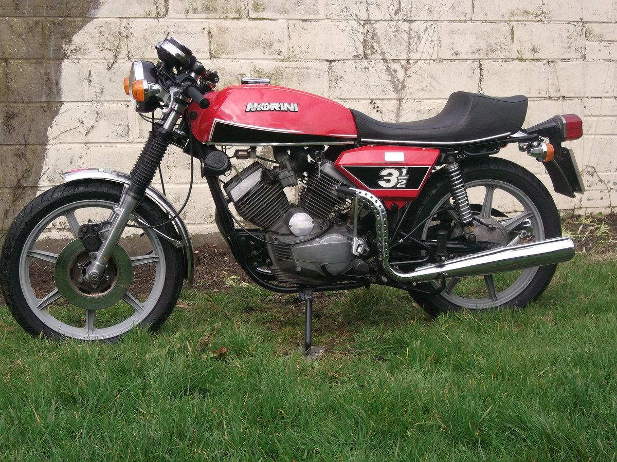 1978 Moto Morini 3 1/2 Sport 350 For Sale (picture 4 of 6)