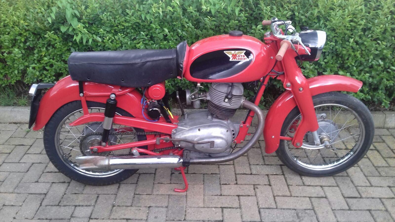 1957 Moto Morini Briscola 175cc For Sale (picture 1 of 6)