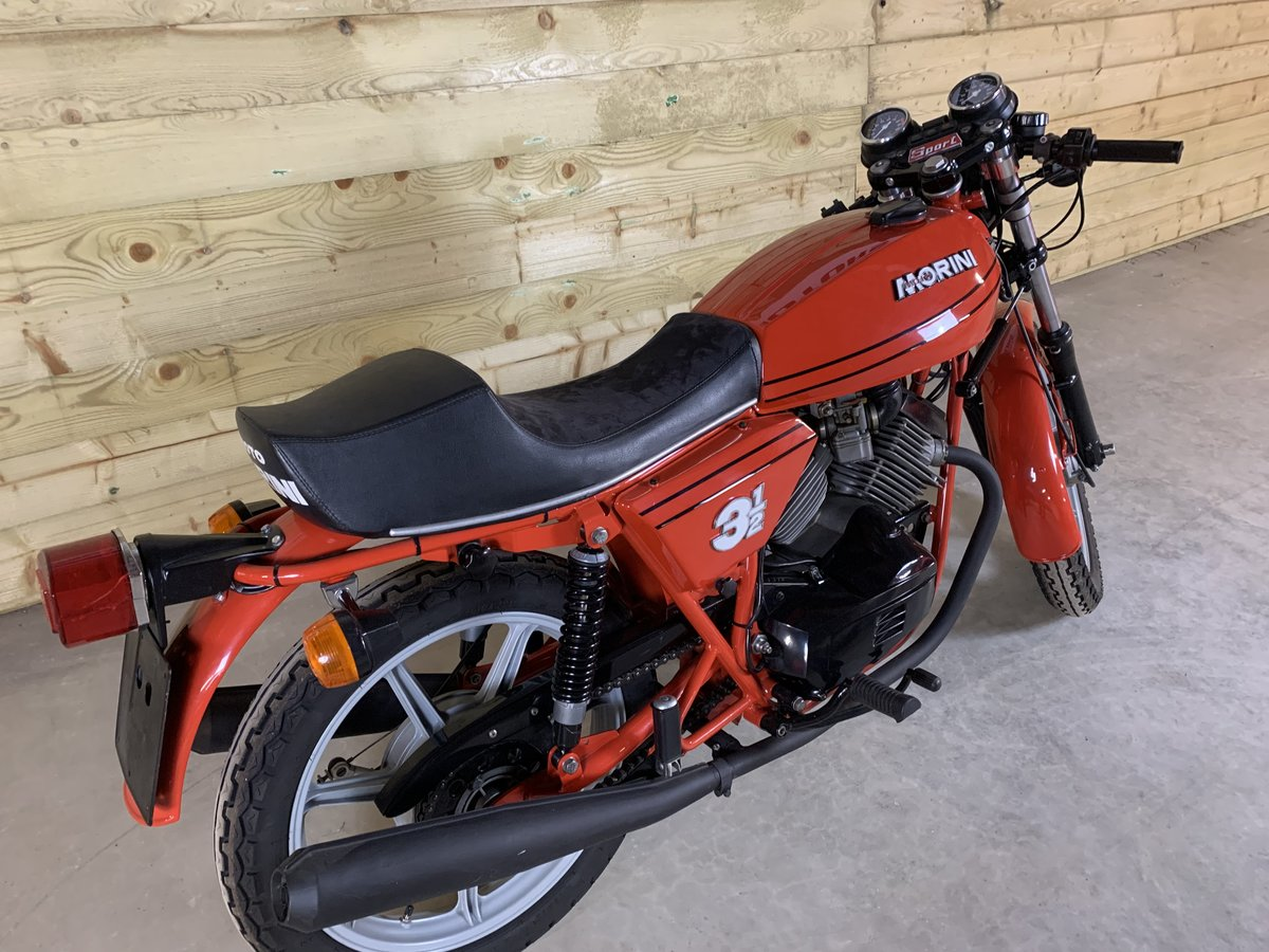 1979 MOTO MORINI 350 SPORT  NOW SOLD For Sale (picture 6 of 6)