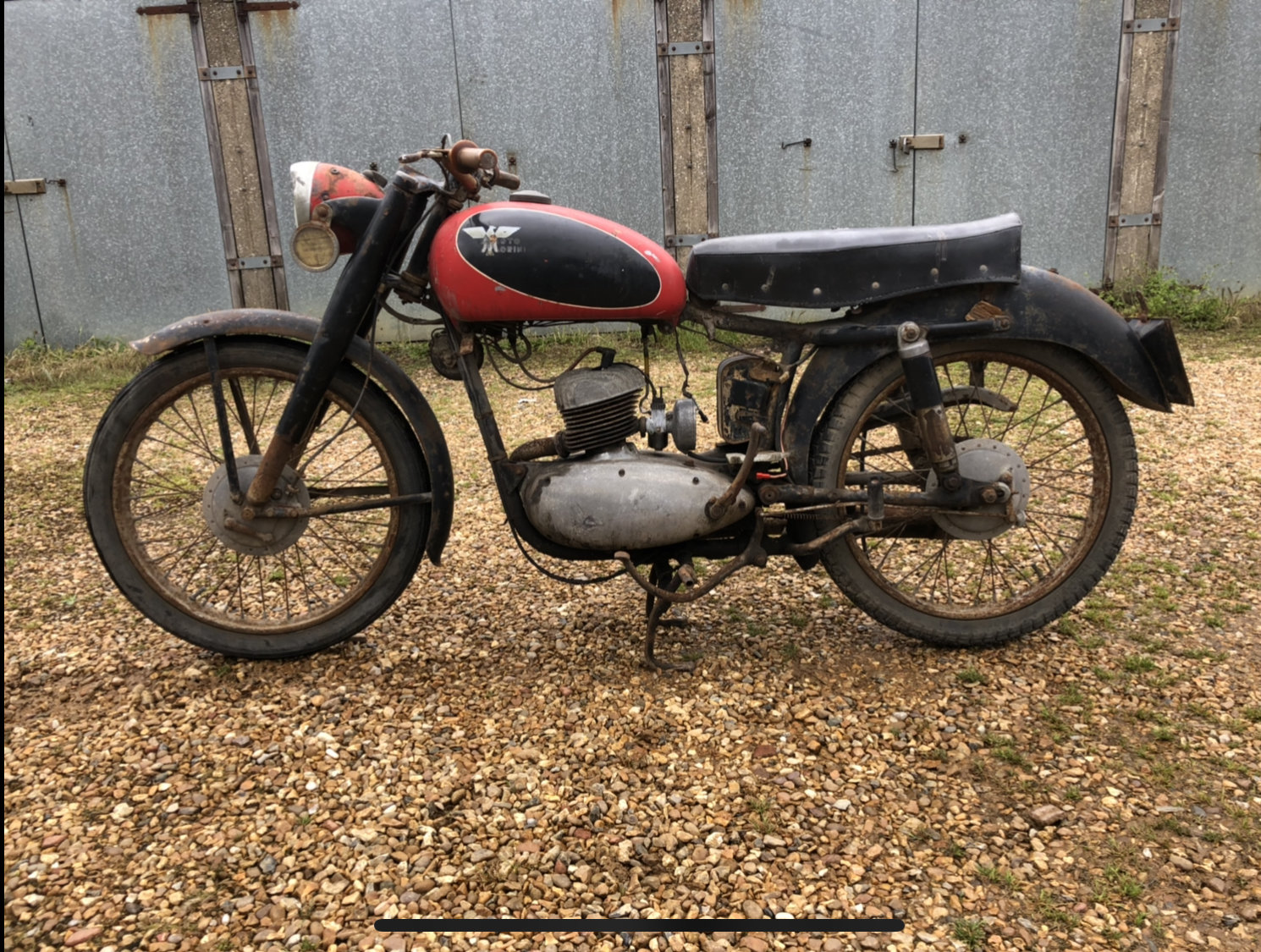 1959 Moto morini 125 classic project bike  For Sale (picture 1 of 5)