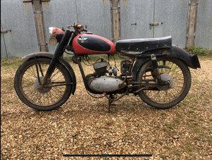 1959 Moto morini 125 classic project bike