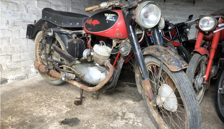 1959 Moto morini 125 classic project bike  For Sale (picture 2 of 5)