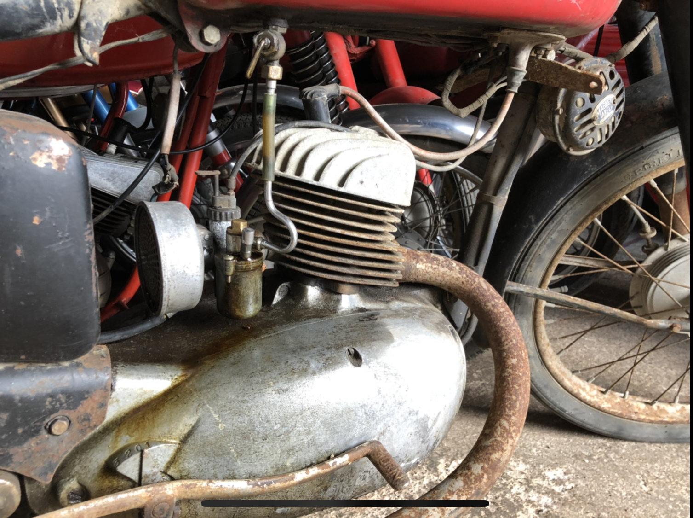 1959 Moto morini 125 classic project bike  For Sale (picture 4 of 5)