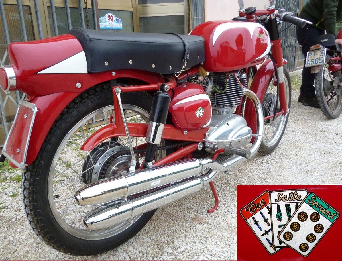 1959 Moto Morini 175 Tresette Sprint SOLD (picture 1 of 6)