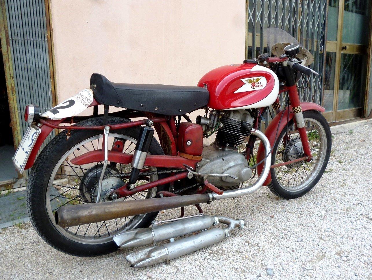 1956 Morini 175 Settebello road racing For Sale (picture 1 of 6)