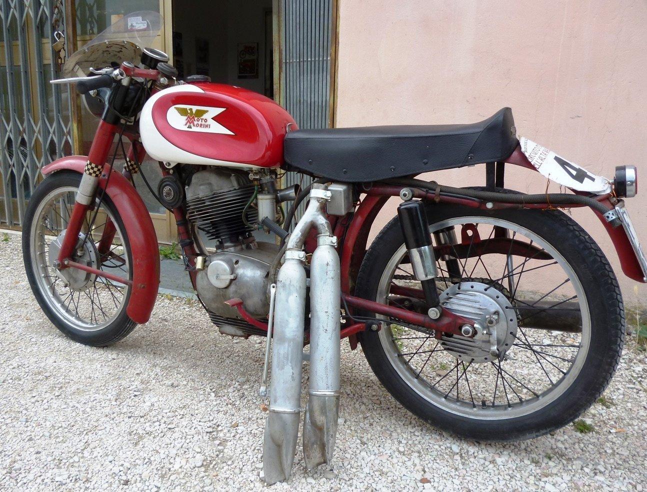 1956 Morini 175 Settebello road racing For Sale (picture 2 of 6)