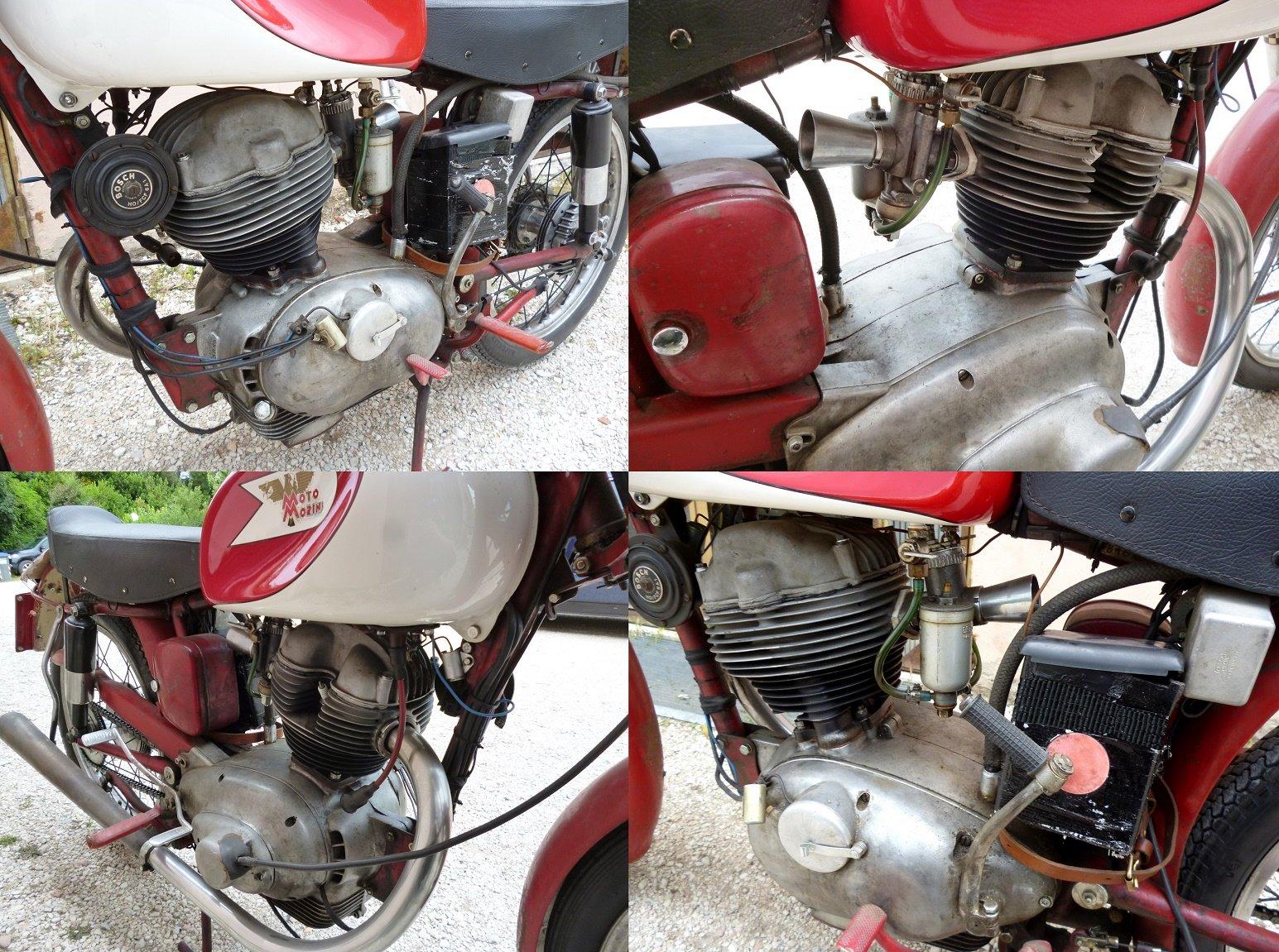 1956 Morini 175 Settebello road racing For Sale (picture 5 of 6)