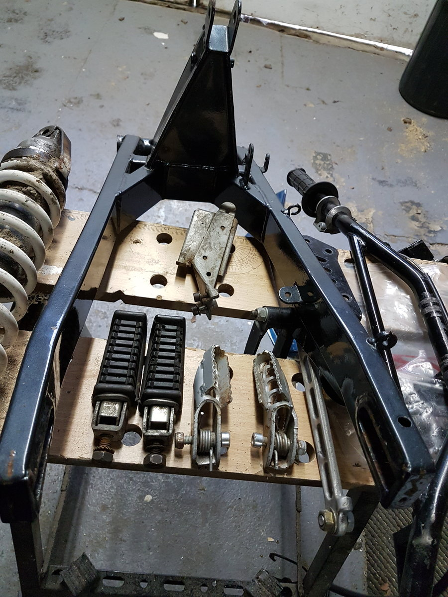 1985 Moto Morini Kanguro rolling chassis spares For Sale (picture 2 of 6)