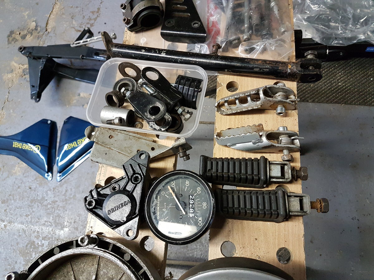 1985 Moto Morini Kanguro rolling chassis spares For Sale (picture 4 of 6)