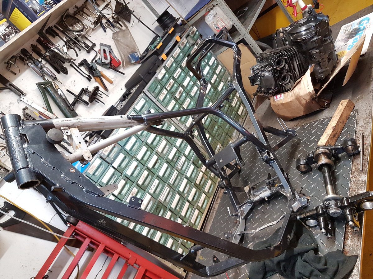 1985 Moto Morini Kanguro rolling chassis spares For Sale (picture 6 of 6)