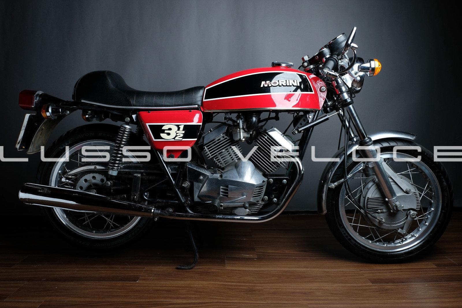 1975 Moto Morini 350 Sport Double drum  For Sale (picture 1 of 6)