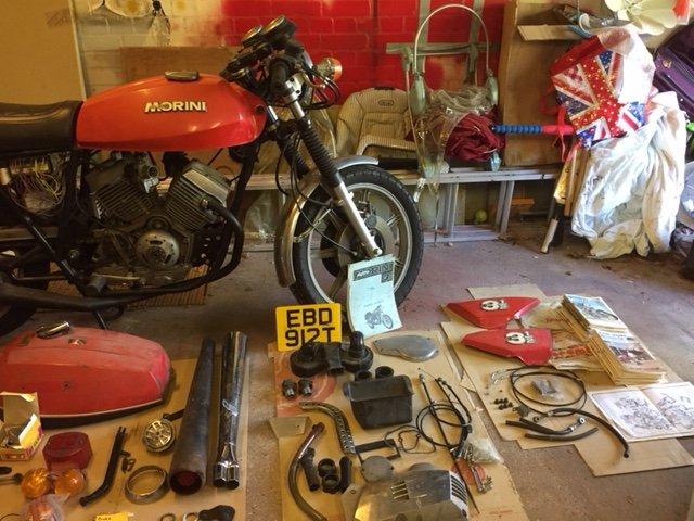 1978 Moto Morini 350 Sport For Sale (picture 5 of 6)