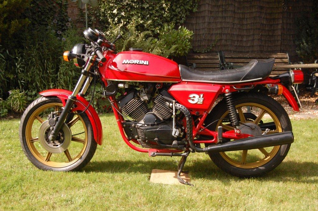 Morini 350 Sport 1980 SOLD (picture 1 of 6)