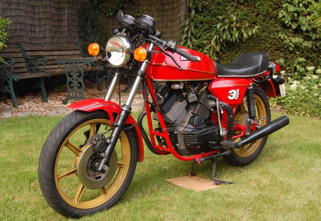 Morini 350 Sport 1980 SOLD (picture 3 of 6)