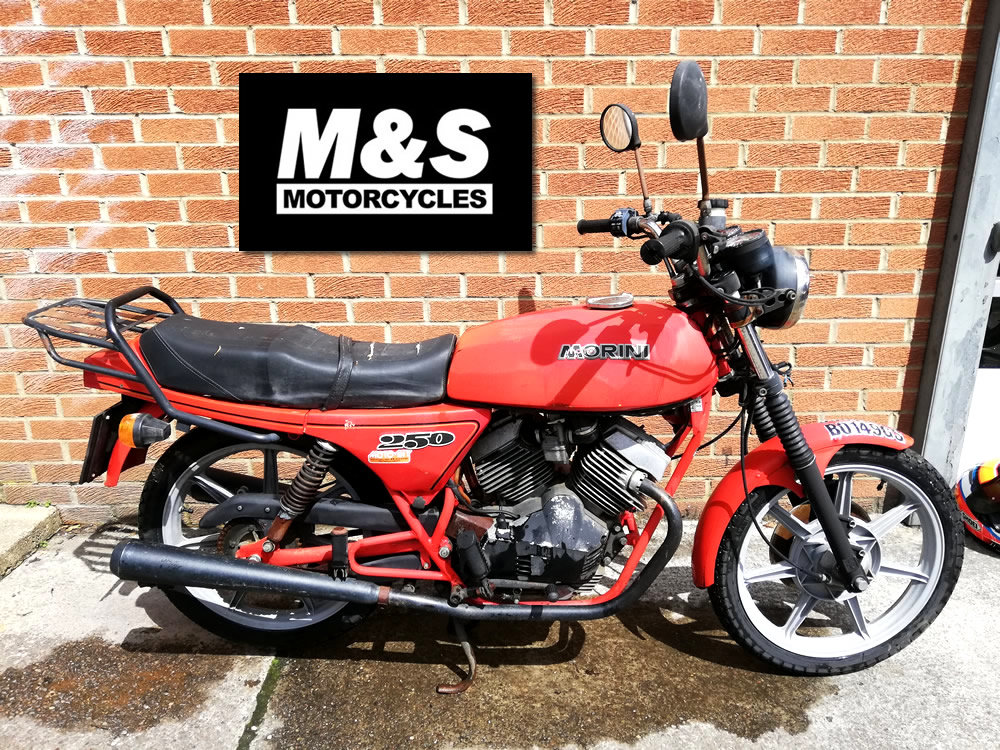 1985 Moto Morini 250cc For Sale (picture 1 of 6)