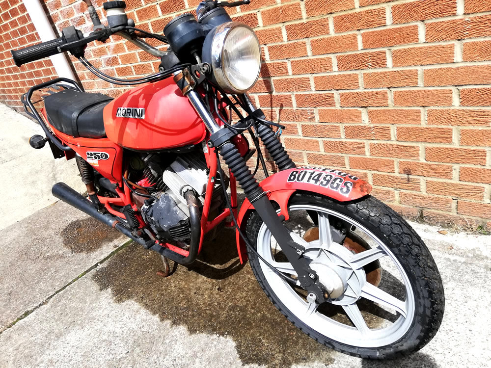 1985 Moto Morini 250cc For Sale (picture 2 of 6)