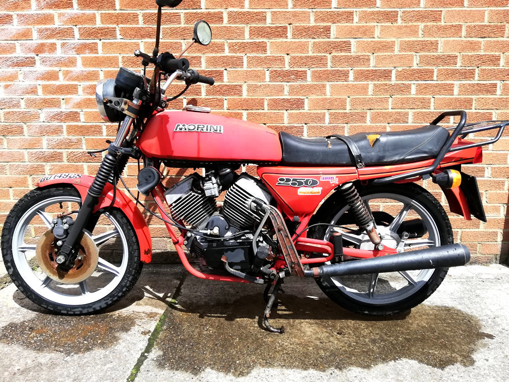 1985 Moto Morini 250cc For Sale (picture 6 of 6)
