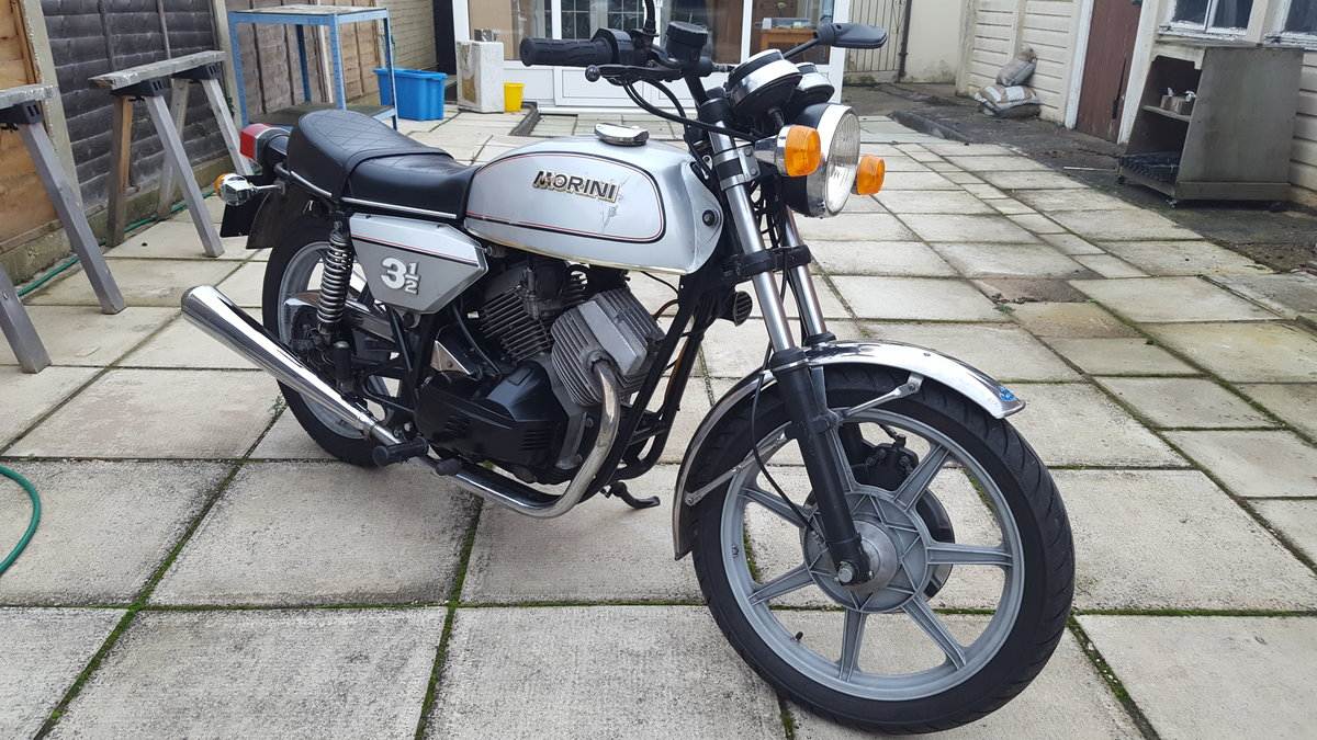 1979 Moto Morini 31/2 Strada Electric Start For Sale (picture 1 of 6)