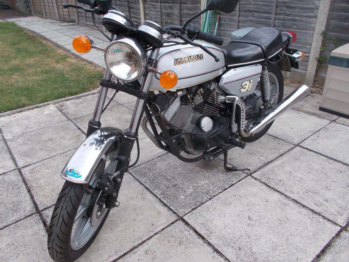 1979 Moto Morini 31/2 Strada Electric Start For Sale (picture 2 of 6)