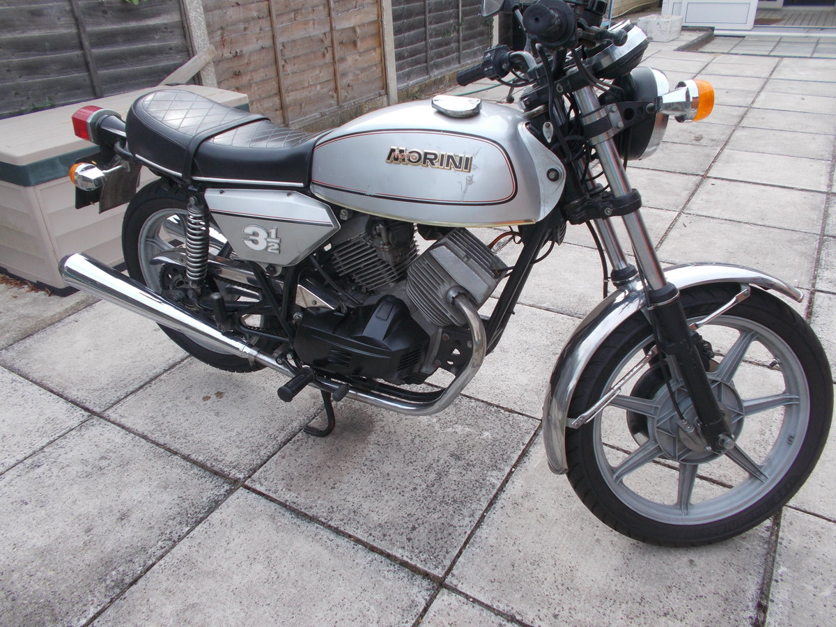 1979 Moto Morini 31/2 Strada Electric Start For Sale (picture 3 of 6)