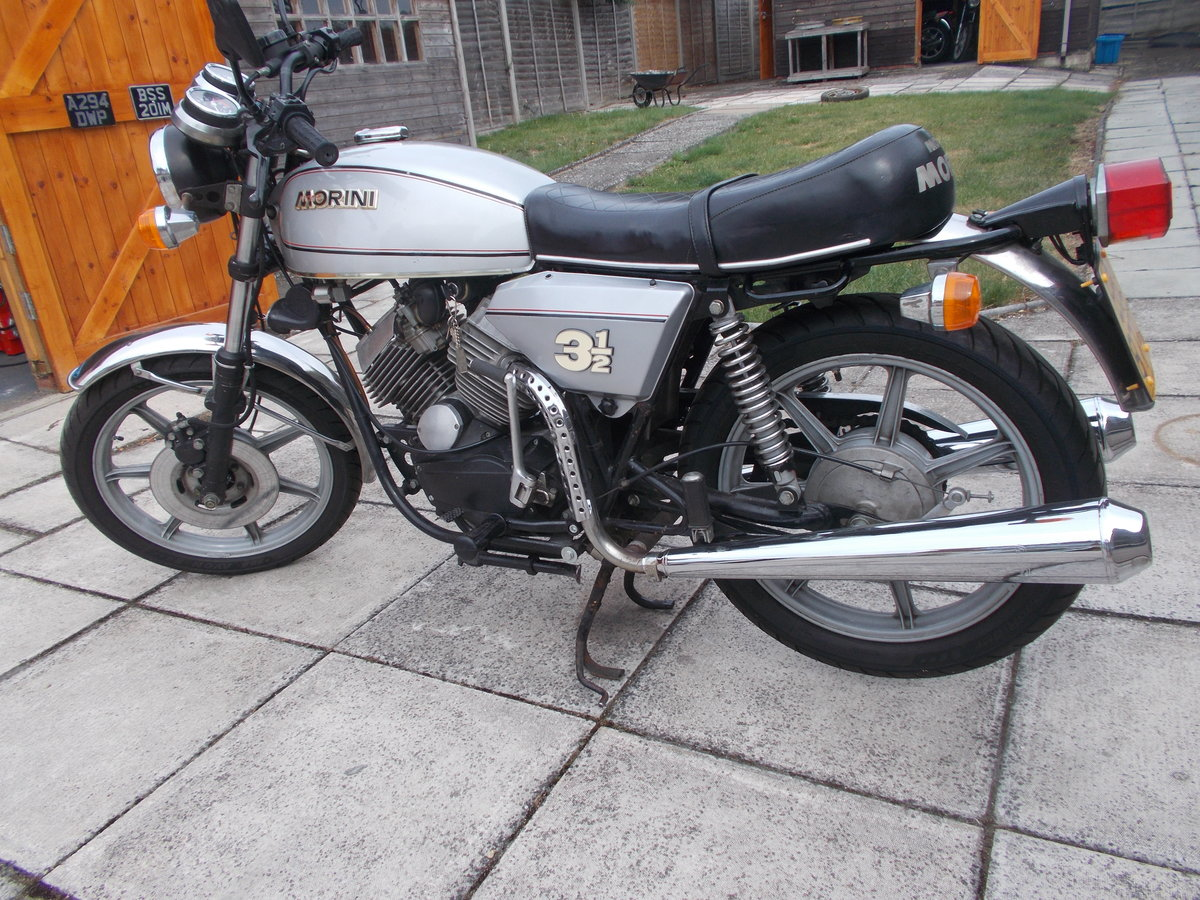1979 Moto Morini 31/2 Strada Electric Start For Sale (picture 4 of 6)