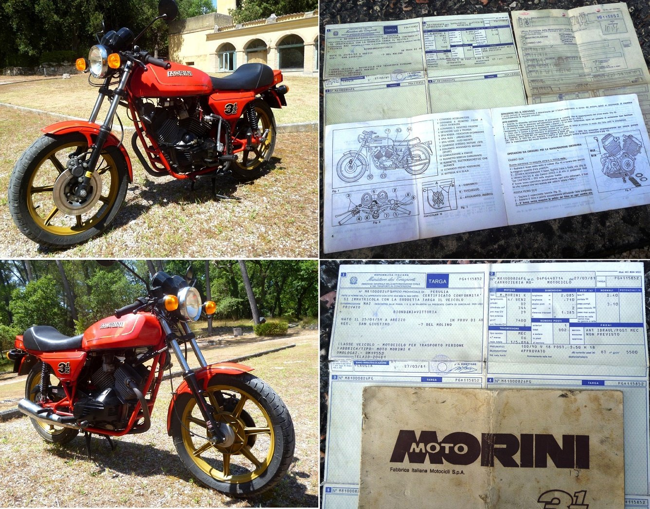 1981 Morini 350 Sport For Sale (picture 2 of 6)