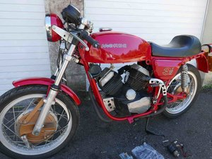 Morini 350 drum-brake sport