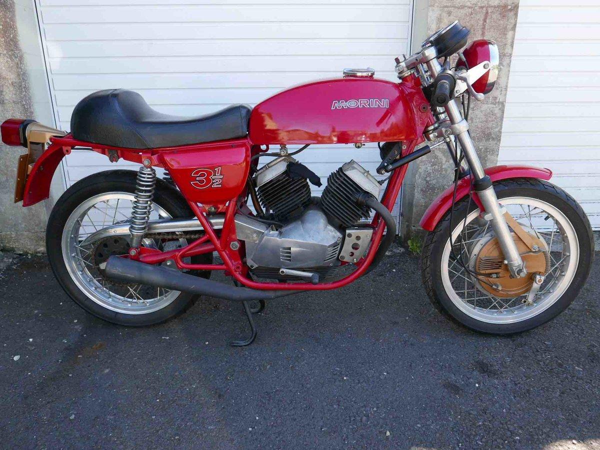 1974 Morini 350 drum-brake sport  For Sale (picture 2 of 6)