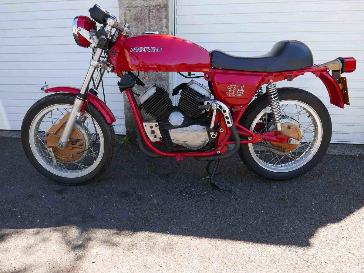 1974 Morini 350 drum-brake sport  For Sale (picture 3 of 6)