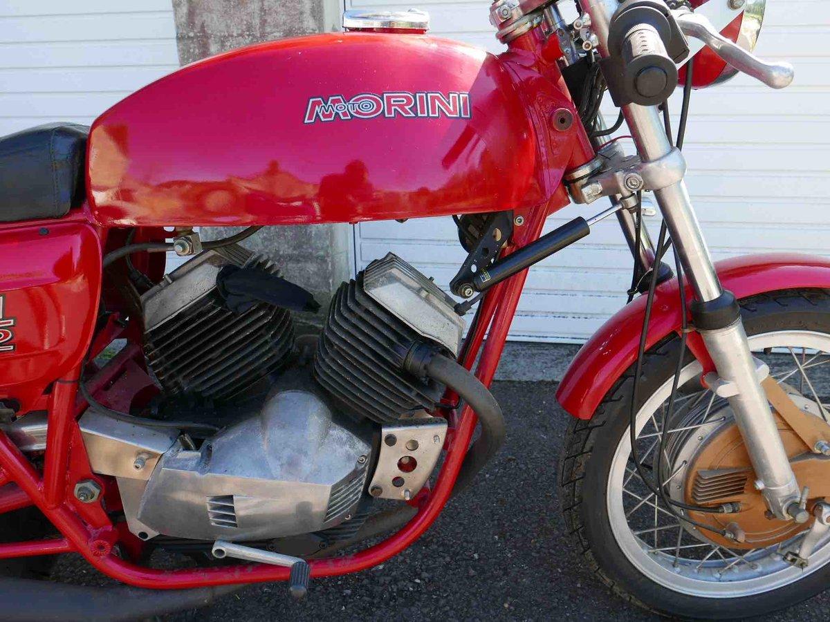 1974 Morini 350 drum-brake sport  For Sale (picture 4 of 6)