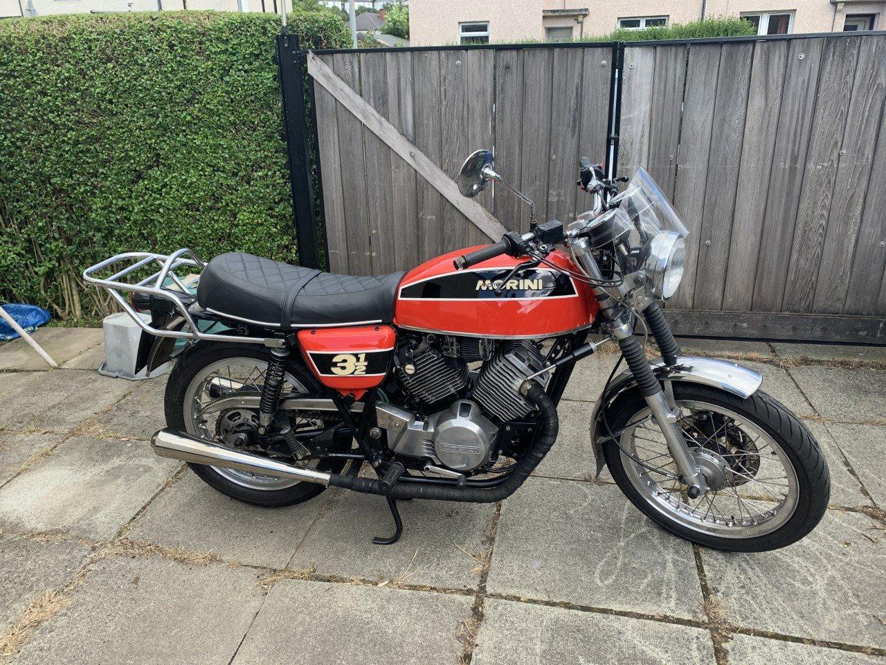 1977 Moto Morini 350/507cc Special SOLD (picture 1 of 5)