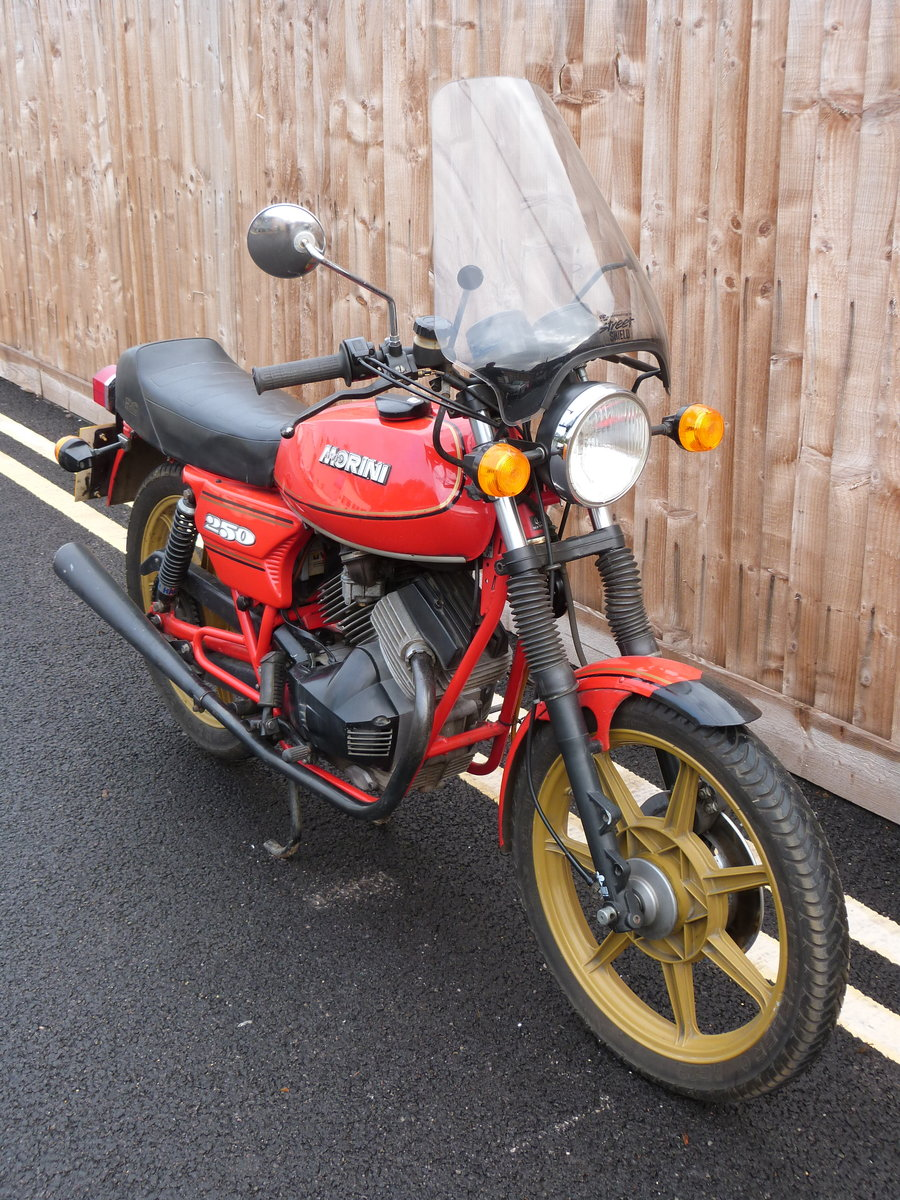 1981 Moto Morini 250cc V twin SOLD by Auction (picture 2 of 6)