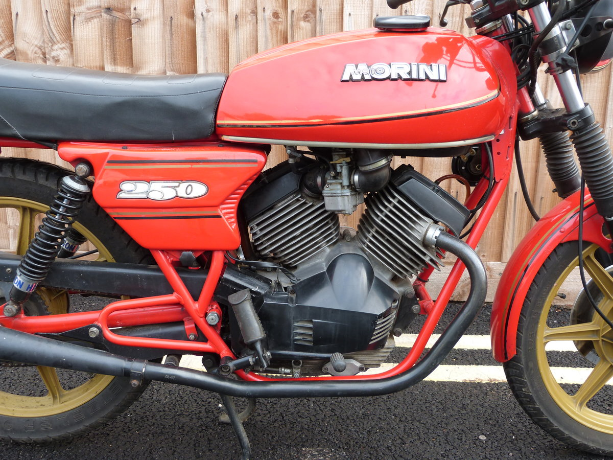 1981 Moto Morini 250cc V twin SOLD by Auction (picture 4 of 6)