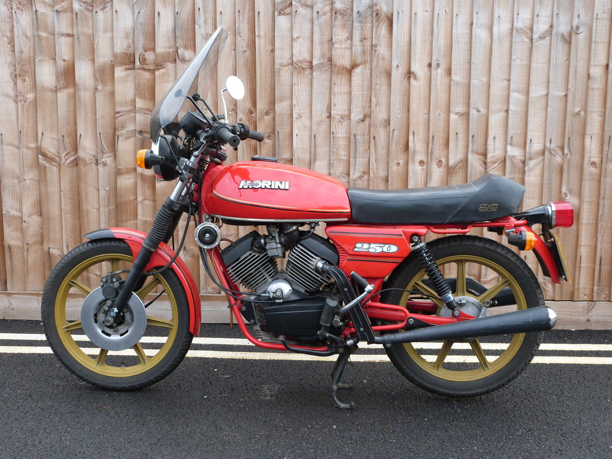 1981 Moto Morini 250cc V twin SOLD by Auction (picture 5 of 6)
