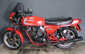 Picture of 1981 Moto Morini 500 cc Sport V Twin , Rare to see a 500  For Sale