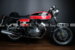 Moto Morini 350 Sport Double Drum 1974