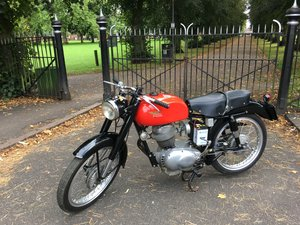 Picture of 1955 Moto Morini 175 4 stroke MILANO-TARANTO CAT. STORICA SOLD