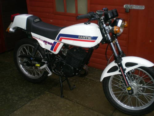 1985 FANTIC 240 CAFE RACER SPECIAL !! ONE OFF BIKE !! For Sale (picture 1 of 6)