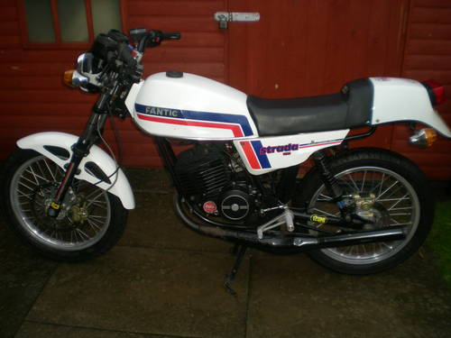 1985 FANTIC 240 CAFE RACER SPECIAL !! ONE OFF BIKE !! For Sale (picture 6 of 6)
